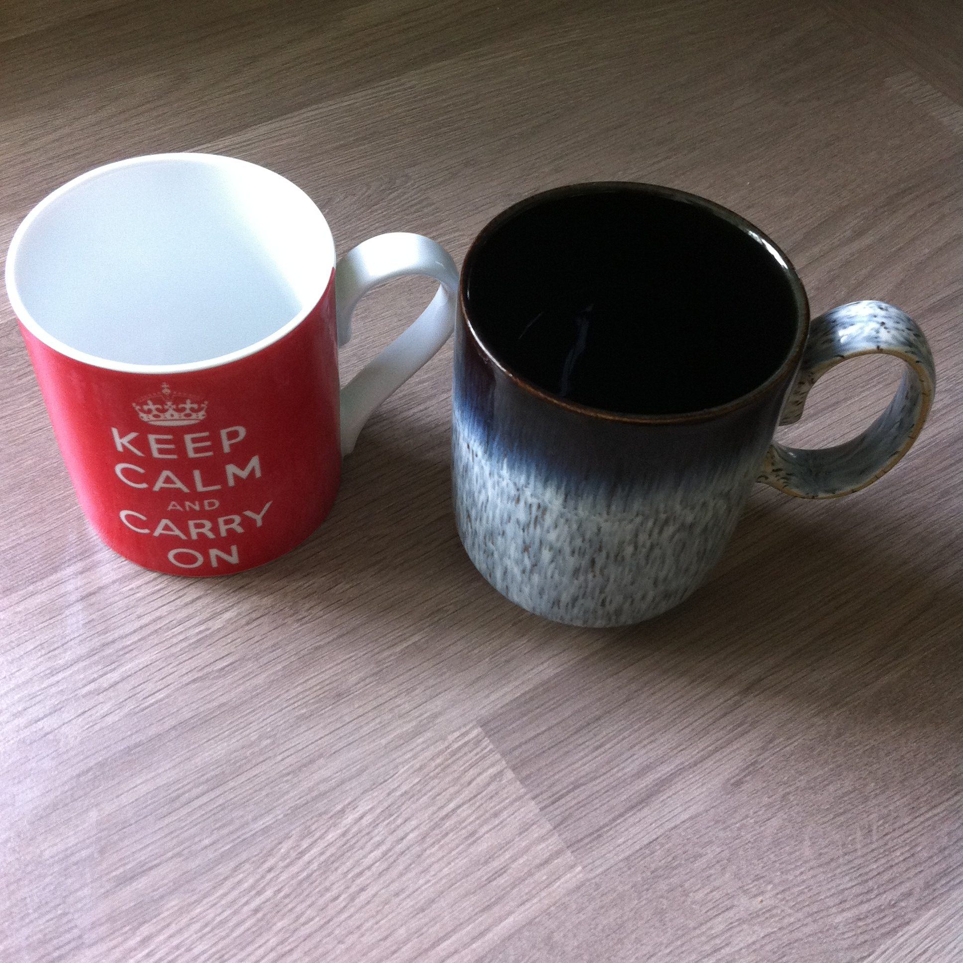 photo of two mugs